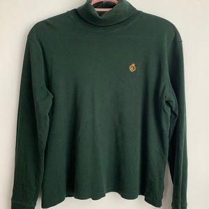 Vintage Ralph Lauren Green Turtleneck